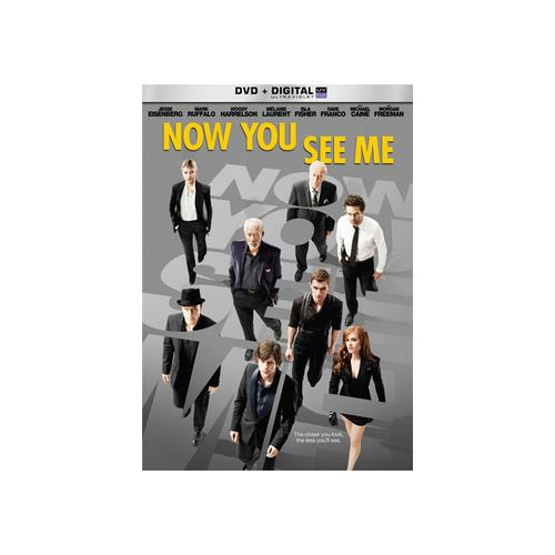 NOW YOU SEE ME (DVD W/DIGITAL ULTRAVIOLET) 25192206078