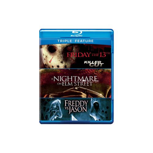 FRIDAY THE 13TH/NIGHTMARE ON ELM STREET/FREDDY VS JASON (BLU-RAY) 883929231584