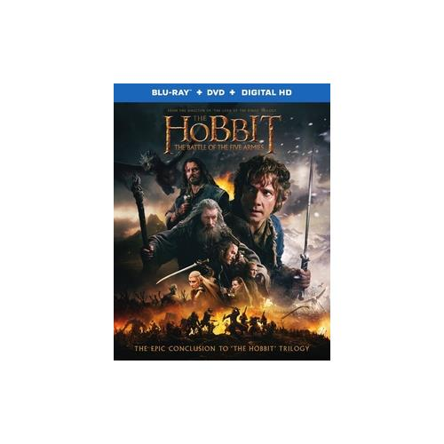 HOBBIT-BATTLE OF FIVE ARMIES (BLU-RAY/DVD COMBO/3 DISC/3RD DISC=SPEC-FEAT) 794043165016
