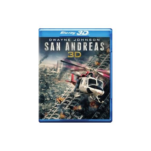 SAN ANDREAS (BLU-RAY/HD3D/DVD/WS-2.40/DIGITAL HD/ULTRAVIOLET) (3-D) 883929456895