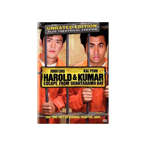 HAROLD & KUMAR ESCAPE FROM GUANTANAMO BAY (DVD/RATED & UNRATED/WS) 794043123115