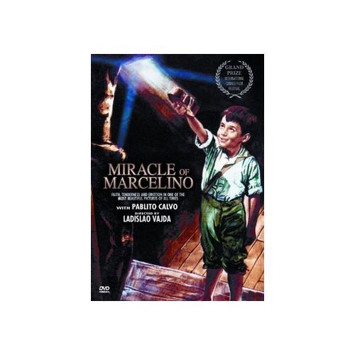 MIRACLE OF MARCELINO (DVD/RESTORED/1955 VERSION/SPANISH) 89859839122