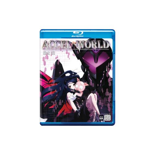 ACCEL WORLD-SET 1 (BLU-RAY/2 DISC) 782009242918