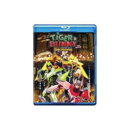 TIGER & BUNNY MOVIE 2-RISING (BLU-RAY/DVD/2 DISC) 782009243458