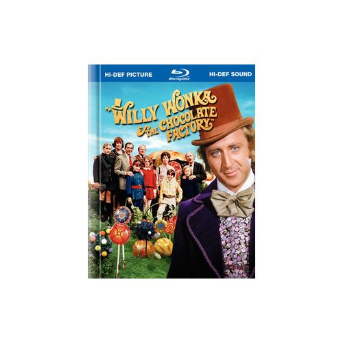 WILLY WONKA & THE CHOCOLATE FACTORY (BLU-RAY/WS/38 PG DIGI-BOOK) 883929057443