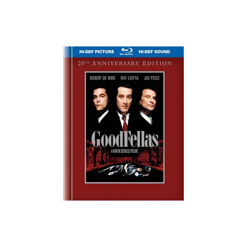 GOODFELLAS-20TH ANNIVERSARY (BLU-RAY/DIGIBOOK/2 DISC/WS-1.85/ENG-FR-SP SUB) 883929095971