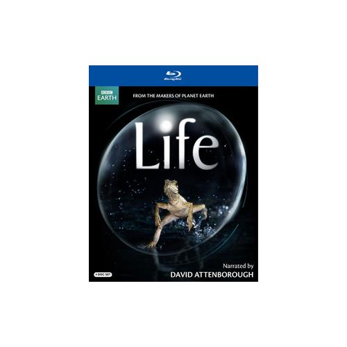 LIFE (NARRATED BY DAVID ATTENBOROUGH) BLU-RAY (4 DISC/ENG-SP-FR SUB) 883929099252