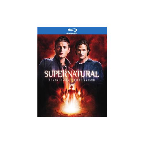 SUPERNATURAL-COMPLETE 5TH SEASON (BLU-RAY/4 DISC/FF-16X9) 883929101610