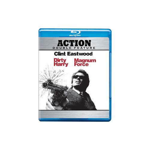 DIRTY HARRY/MAGNUM FORCE (BLU-RAY/WS-16X9/DBFE) 883929106363