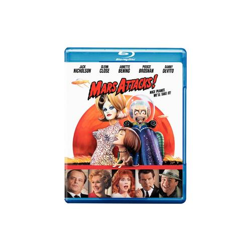 MARS ATTACKS (BLU-RAY/WS-16X9/ENG-FR-SP SUB) 883929114412