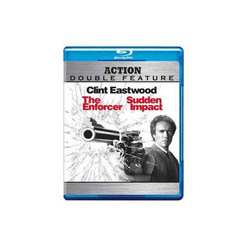 ENFORCER/SUDDEN IMPACT (BLU-RAY/DBFE) 883929118588