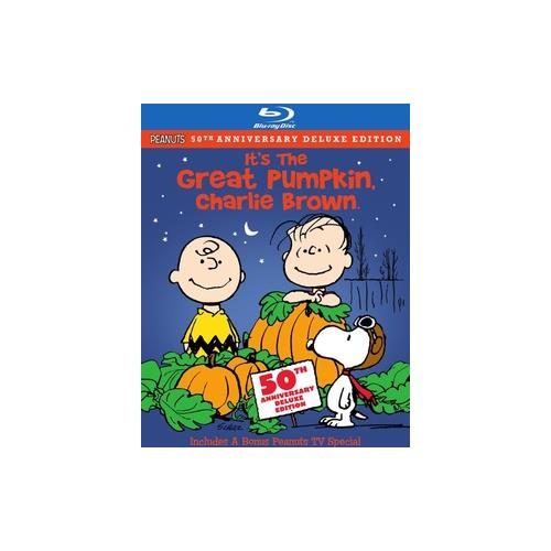 PEANUTS-ITS THE GREAT PUMPKIN CHARLIE BROWN (BLU-RAY/DVD/2 DISC COMBO) 883929145775