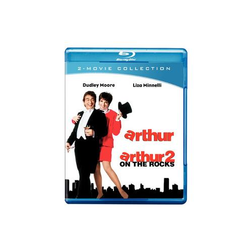 ARTHUR/ARTHUR 2-ON THE ROCKS (BLU-RAY/DBFE/WS-16X9) 883929154029