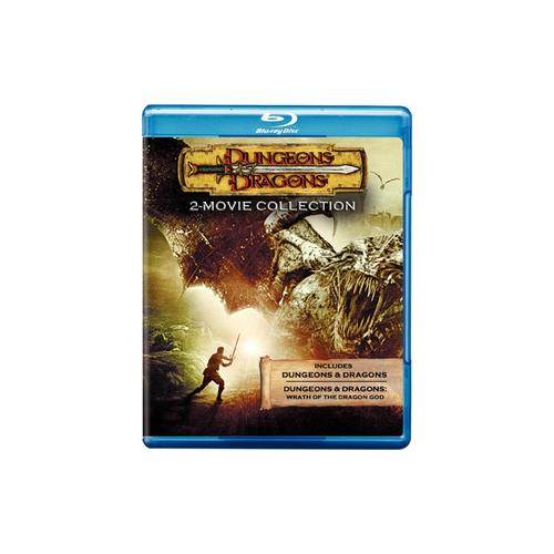 DUNGEONS & DRAGONS/DUNGEONS & DRAGONS-WRATH OF THE DRAGON GOD (BLU-RAY/DFE) 883929162543
