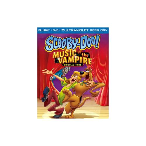 SCOOBY-DOO-MUSIC OF THE VAMPIRE (BLU-RAY/DVD/2 DISC/COMBO/FF-16X9) 883929180882