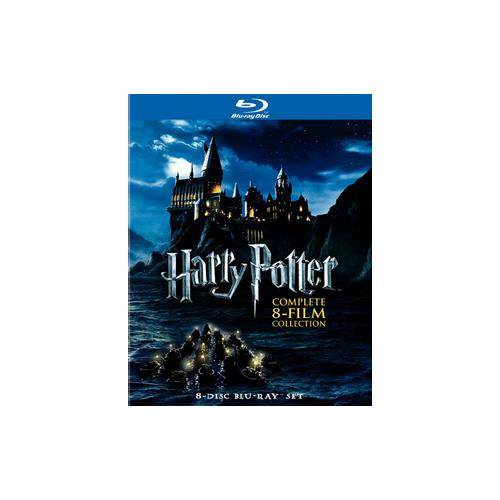 HARRY POTTER-COMPLETE COLLECTION YEARS 1-7AB (BLU-RAY/8 DISC) 883929182886