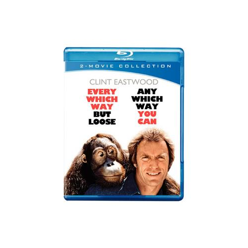 EVERY WHICH WAY BUT LOOSE/ANY WHICH WAY YOU CAN (BLU-RAY/DBFE) 883929183302