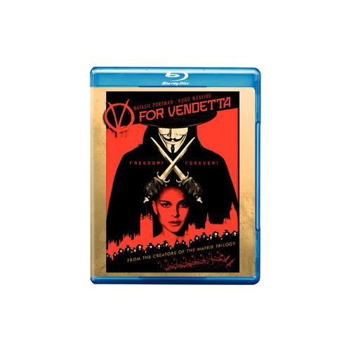 V FOR VENDETTA (BLU-RAY/WS-2.40/ENG-SP-FR SUB) 85391117018