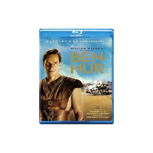 BEN-HUR-50TH ANNIVERSARY EDITION (BLU-RAY/2 DISC) 883929209422