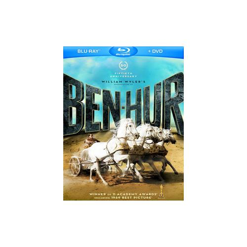BEN-HUR-50TH ANNIVERSARY EDITION (BLU-RAY/DVD/4 DISC) 883929209453