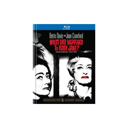WHAT EVER HAPPENED TO BABY JANE-50TH ANNIVERSARY (BLU-RAY/DIGIBOOK) 883929242870