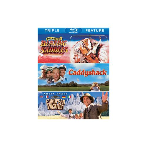 BLAZING SADDLES/CADDYSHACK/EUROPEAN VACATION (BLU-RAY/TFE) 883929251209