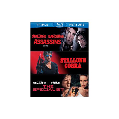 ASSASSINS/COBRA/SPECIALIST (BLU-RAY/TFE/3 DISC) 883929250899