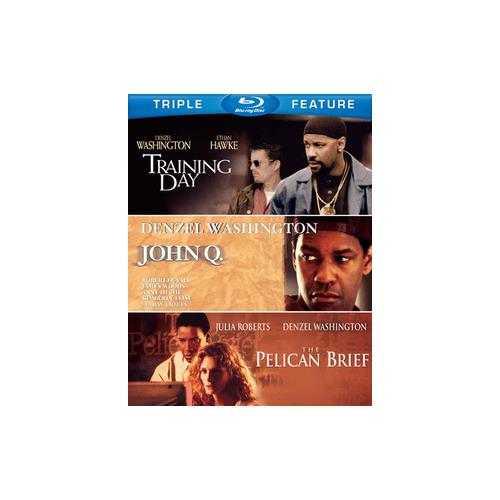 JOHN Q/PELICAN BRIEF/TRAINING DAY (BLU-RAY/TFE) 883929250929