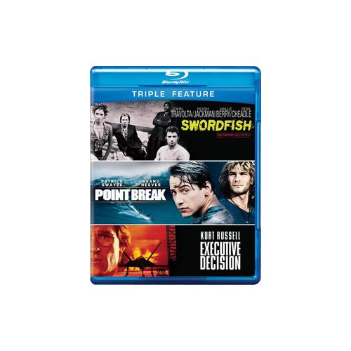 EXECUTIVE DECISION/POINT BREAK 1991/SWORDFISH (BLU-RAY/TFE) 883929250936