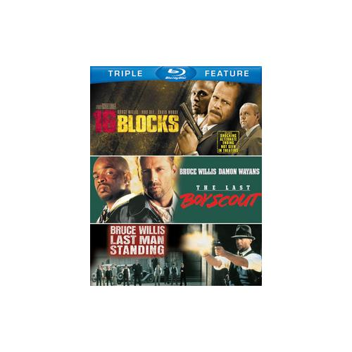 16 BLOCKS/LAST BOY SCOUT/LAST MAN STANDING (BLU-RAY/TFE/2 DISC) 883929268085