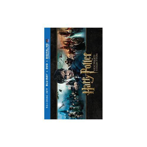 HARRY POTTER HOGWARTS (BLU-RAY/DVD/UV-DHD/31 DISC/8 MOVIES) 883929296620