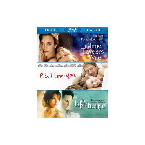 TIME TRAVELERS WIFE/PS I LOVE YOU/LAKE HOUSE (BLU-RAY/TFE/3 DISC) 883929297917