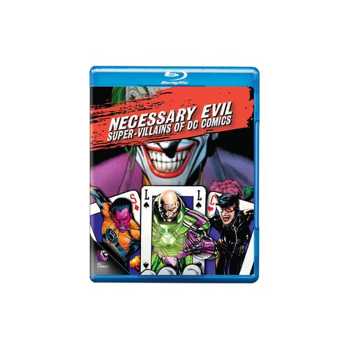 NECESSARY EVIL-VILLAINS OF DC COMICS (BLU-RAY) 883929309634