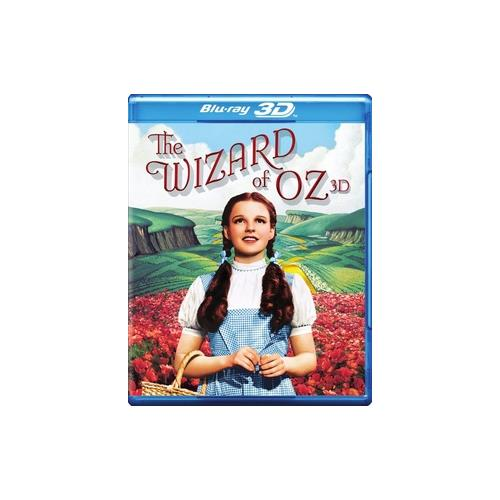 WIZARD OF OZ-75TH ANNIVERSARY (BLU-RAY/3-D/2 DISC/UV) (3-D) 883929333332
