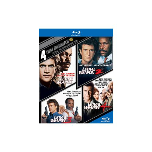4 FILM FAVORITES-LETHAL WEAPON (BLU-RAY/4 DISC) 883929343188