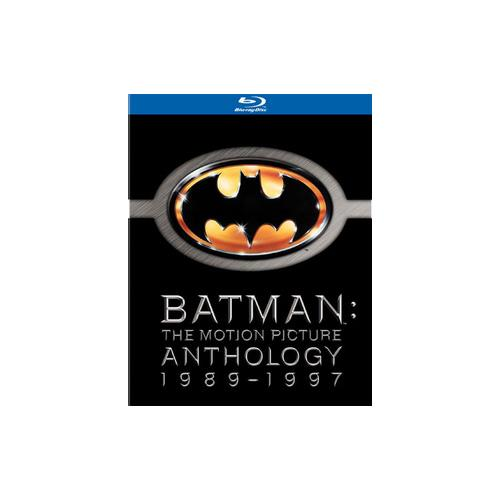 BATMAN-MOTION PICTURE ANTHOLOGY 1989-97 SPECIAL ED (BLU-RAY/4PK) 883929031689