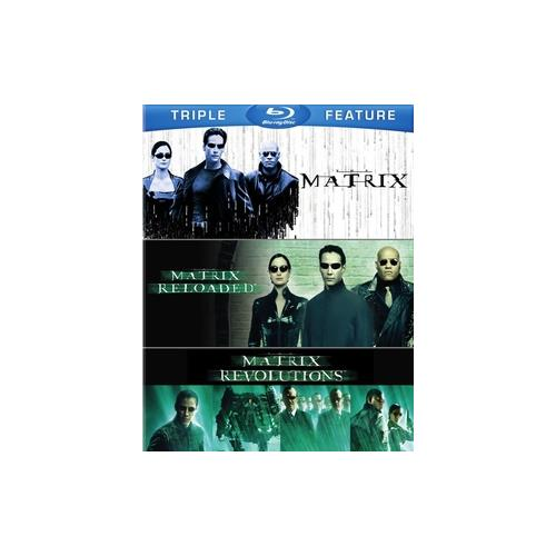 MATRIX/MARTIX RELOADED/MATRIX REVOLUTIONS (BLU-RAY/3FE) 883929351923