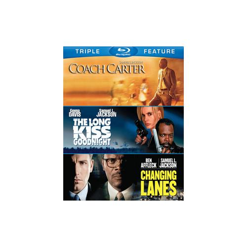 SAMUEL L JACKSON-TFE (BLU-RAY/COACH C/LONG KISS/CHANGING LANES) 883929373833