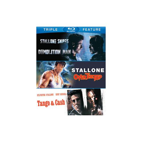 SYLVESTER STALLONE-TFE (BLU-RAY/DEMOLITION M/OVER THE TOP/TANGO & CASH) 883929373840