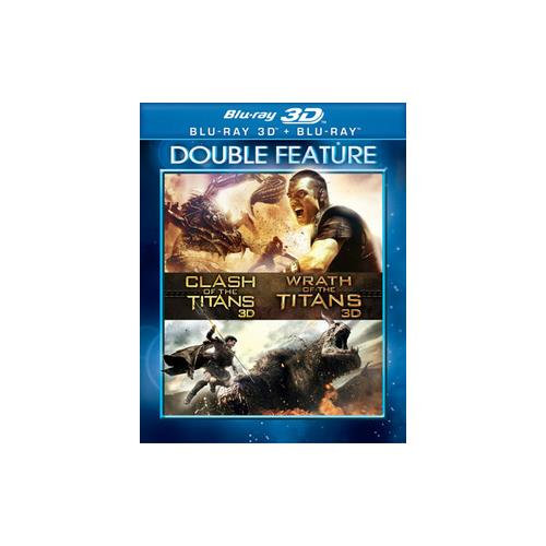 CLASH OF THE TITANS/WRATH OF THE TITANS (BLU-RAY/3D/DF) (3-D) 883929381210