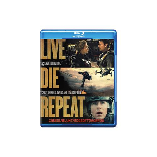 LIVE DIE REPEAT-EDGE OF TOMORROW (BLU-RAY/DVD COMBO/DHD/2 DISC) 883929386819