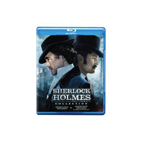 SHERLOCK HOLMES/SHERLOCK HOLMES-GAME OF SHADOWS (BLU-RAY/DBFE) 883929389513