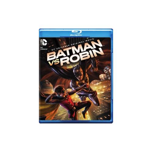 BATMAN VS ROBIN (BLU-RAY/DVD/DIGITAL HD/UV/2 DISC/ANIMATED/DC UNIVERSE MOV) 883929394074