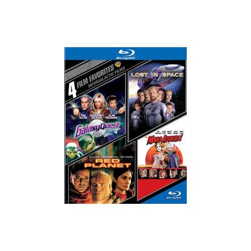 4 FILM FAVORITES-INTERGALACTIC FILMS (BLU-RAY/4 DISC) 883929401529