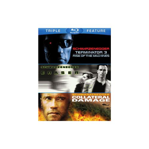 TERMINATOR 3/ERASER/COLLATERAL DAMAGE (BLU-RAY/3FE) 883929406302