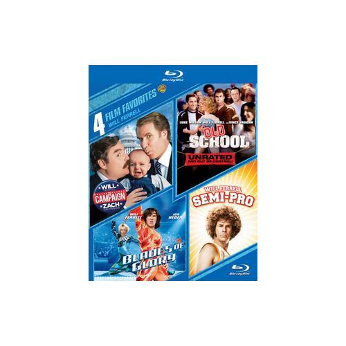 4 FILM FAVORITES-WILL FERRELL (BLU-RAY/4 DISC) 883929407132