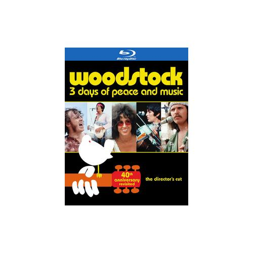 WOODSTOCK-3 DAYS OF PEACE & MUSIC-40TH ANNIVERSARY LE REVISITED (BLU-RAY) 883929409396