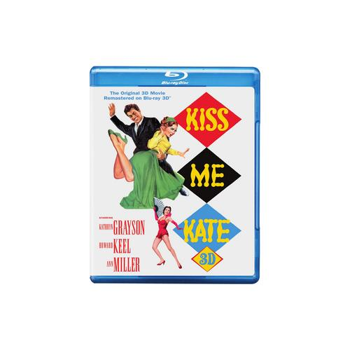KISS ME KATE (BLU-RAY) (3-D) 883929444915
