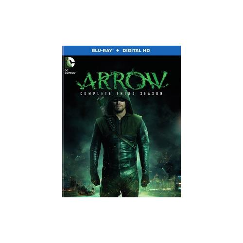 ARROW-COMPLETE 3RD SEASON (BLU-RAY/ULTRA VIOLET) 883929445172