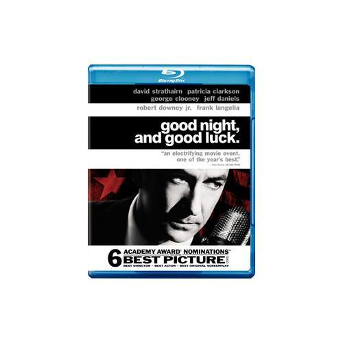 GOOD NIGHT & GOOD LUCK (BLU-RAY/WS-1.85/ENG-FR-SP SUB) 12569828421